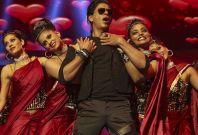 Shah Rukh Khan performs in Sydney during Temptation Reloaded concert. (Photo: TemptationReloaded/Facebook)