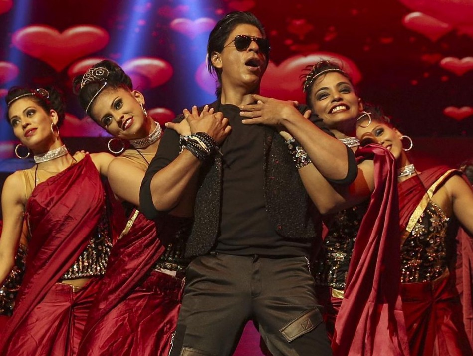 Shah Rukh Khan performs in Sydney during Temptation Reloaded concert. (Photo: TemptationReloaded/Facebook)