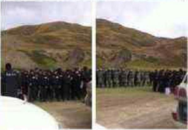 Tibet China police