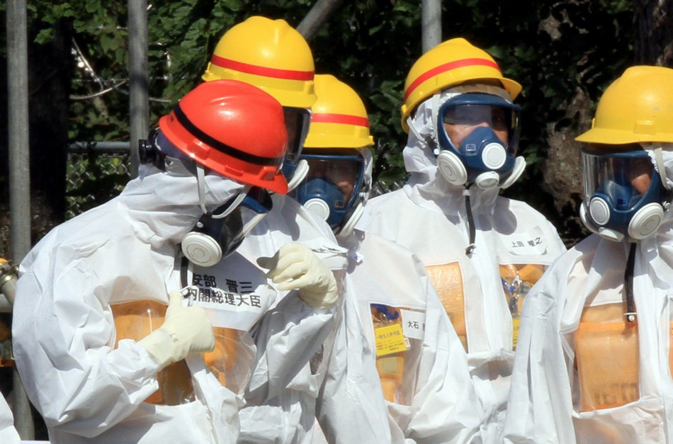 Trying to clean up Fukushima is hazadous job in Japan PIC: Reuters