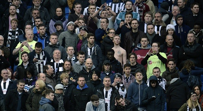 Statistic show 175 Newcastle United supporters were arrested last season (Reuters)