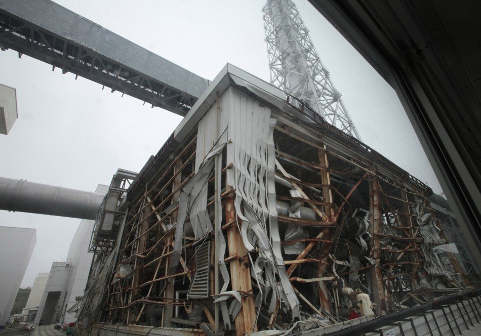 Devastated nuclear power plant at Fukushima PIC: Reuters