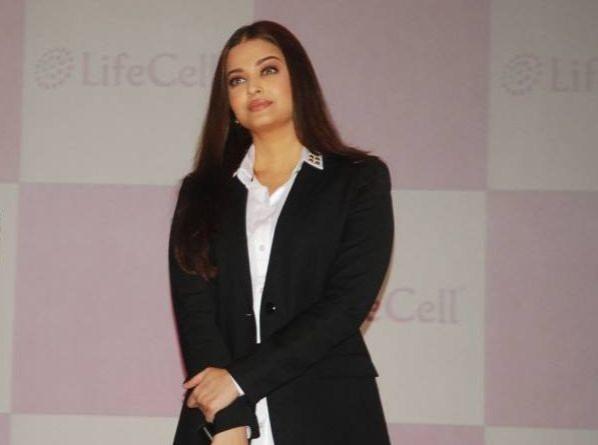 Aishwarya Rai Bachchan at the unveiling of a stem cell banking solution in Mumbai. (Photo: LifeCellInternational/Facebook)