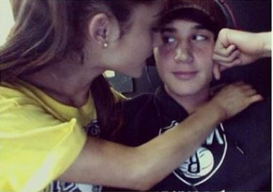 Jai Brooks claims Ariana Grande cheated on him with Nathan Sykes. (Instagram/Jai Brooks)