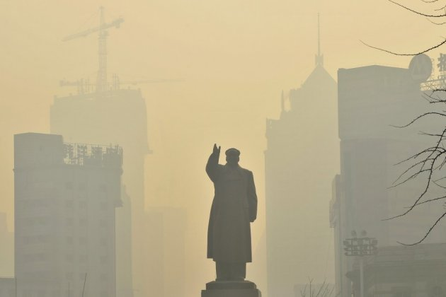 Beijing air pollution
