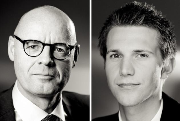 Kurt Bardeleben and Lars Korterman