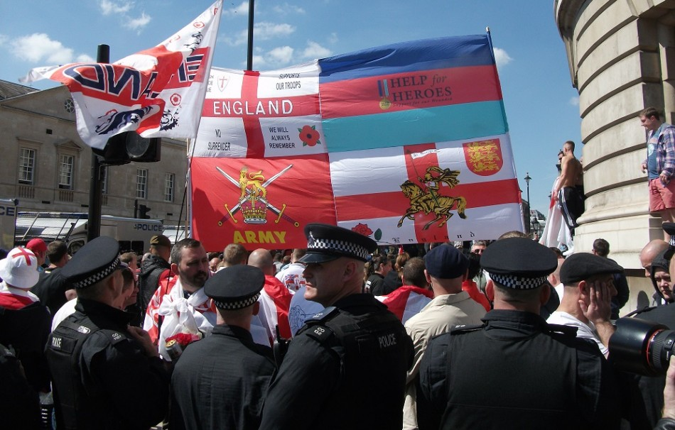 EDL has no leader but does have a loud, raucous voice PIC: IBTimes UK