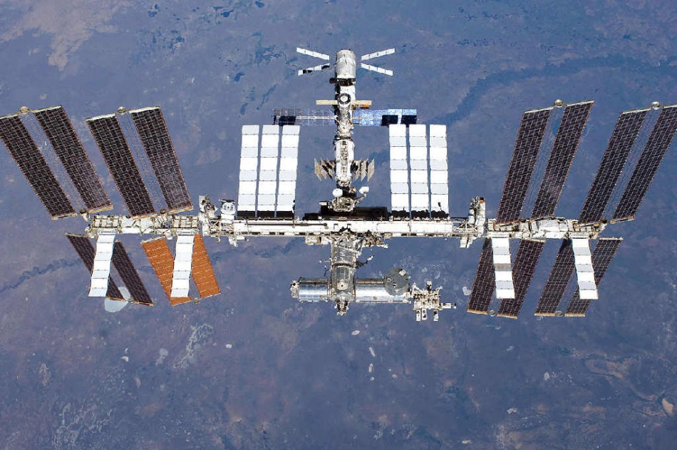 The International Space Station, 2011 (Wikimedia)
