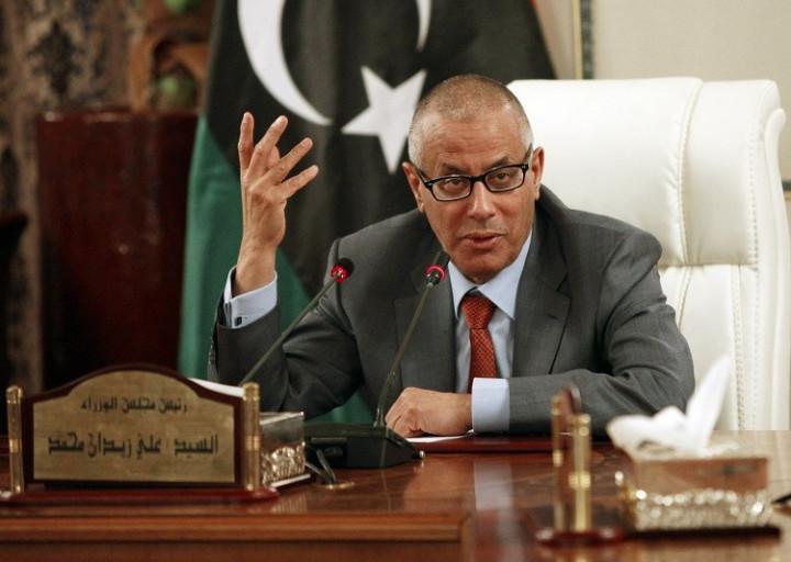 Libya's Prime Minister Ali Zeidan