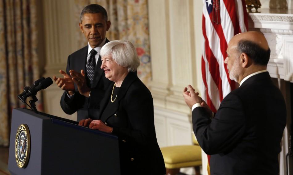 Barack Obama, Janet Yellen, Ben Bernanke