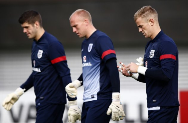 Fraser Forster, John Ruddy and Joe Hart