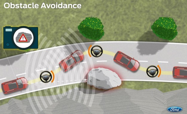 Ford Obstacle Avoidance System