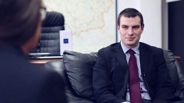 Vladimir Tomic, Assistant Director for FDI at Siepa in a video interview with IBTimes UK on investing in Belgrade and beyond (Photo: IBTimes UK)