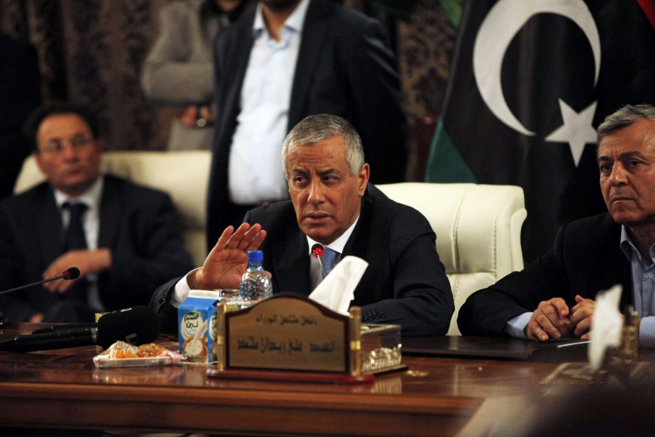 Ali Zeidan Libya PM freed