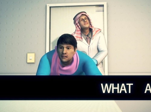 Video imagines what form the gay test in Kuwait will take PIC: Youtube