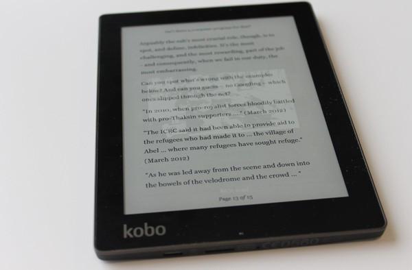 Kobo Aura Review