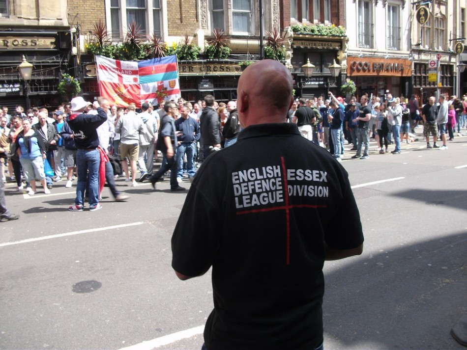 English Defence League (EDL) appoints Tim Ablitt as chairman after Tommy Robinson's departure PIC: IBTimes UK