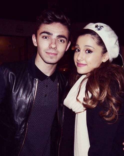 The Wanted's Nathan Sykes On Ariana Grande: 'I absolutely adore her'