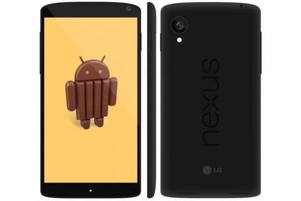 The Nexus 5 and Android 4.4 is expected to be launched on 15 October.