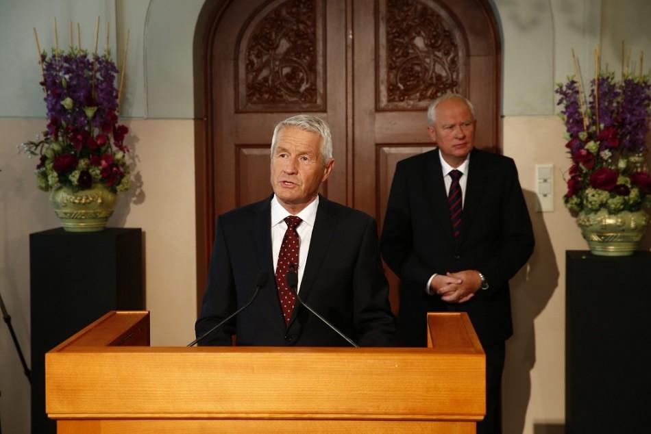 Thorbjorn Jagland, chairman of the Norwegian Nobel Committee