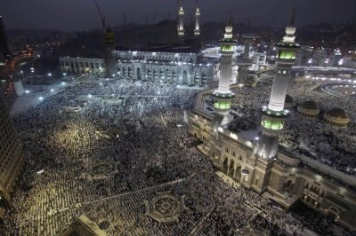 During the Hajj Muslims strip away all markers of social status, wealth, and pride to show everyone is equal in the eyes of Allah