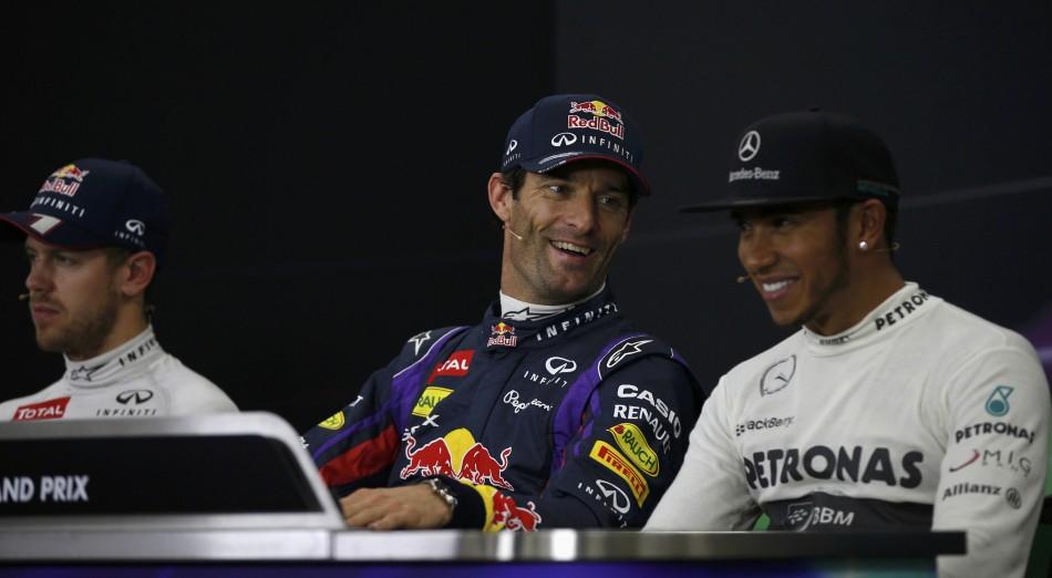 Vettel-Webber-Hamilton