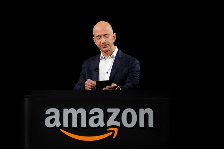 Jeff Bezos of Amazon