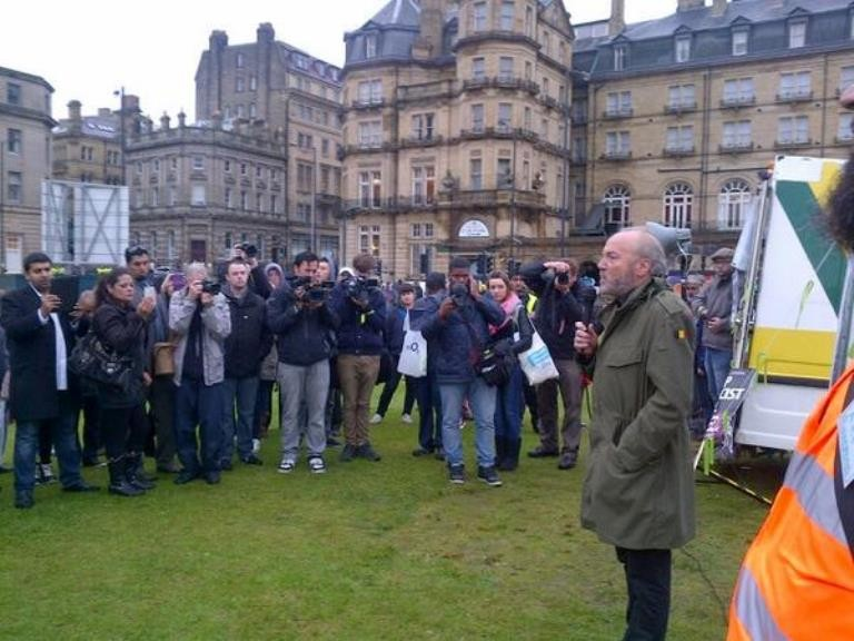 Local MP George Galloway