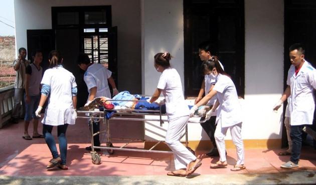 Victim of Vietnamese firework explosion