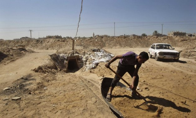 Israel discovers large terror tunnel connecting Gaza