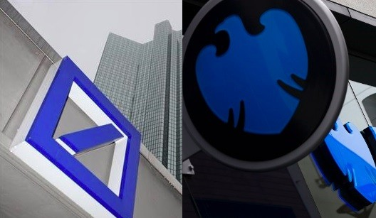 Barclays is being sued by Guardian Care Homes and Deutsche Bank is being sued by Unitech for alleged swap mis-selling (Photo: Reuters)