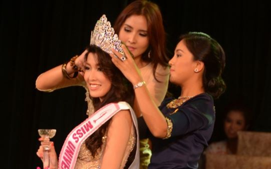 Moe Set Wine first Myanmar contestant since 1961. (Miss Universe Myanmar website)