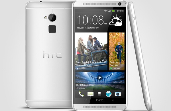 HTC One max Officially Unveiled Fingerprint scanner