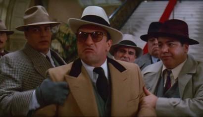 Robert de Niro as Al Capone in the Untouchables