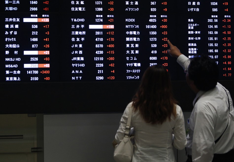 Asian markets outside Shanghai trade higher on 15 October