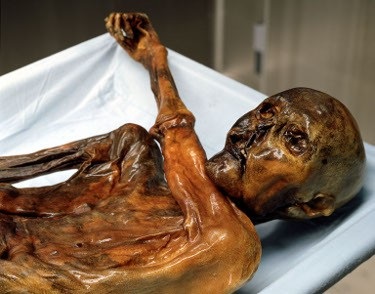 Otzi, one of the world's best-known and most important mummies, has living relatives in Austria, according to scientists. (Photo: South Tyrol Museum of Archaeology)