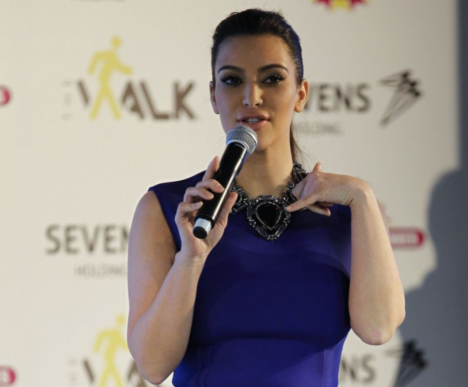 Kim Kardashian has stated that Atkins diet is the secret to her post baby body/Reuters