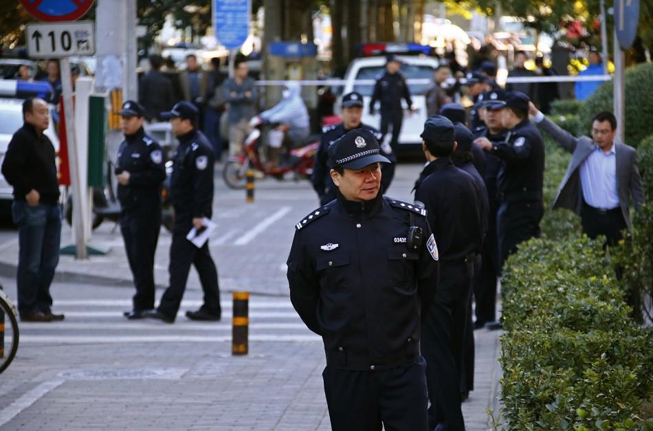 Beijing airport bomb trial