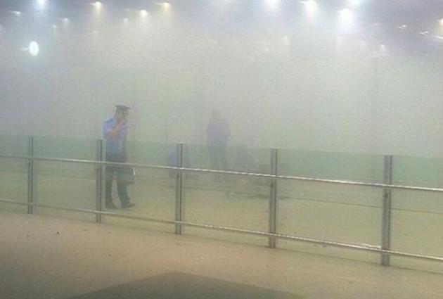 Beijing airport bomb