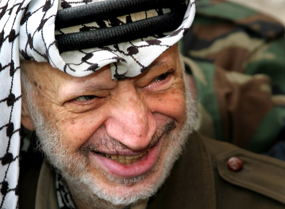 yasser arafat  u0026 39 poisoned with radioactive material used to