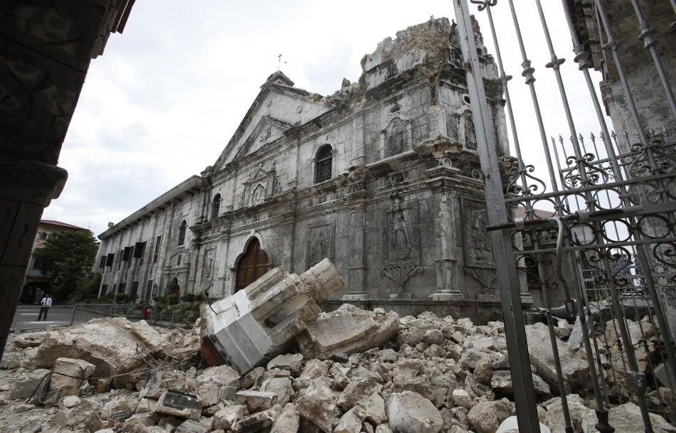 Philippines termor church