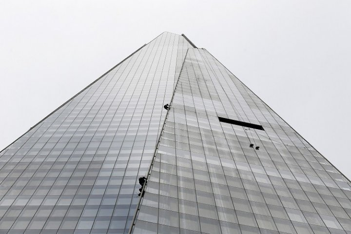 Greenpeace the shard