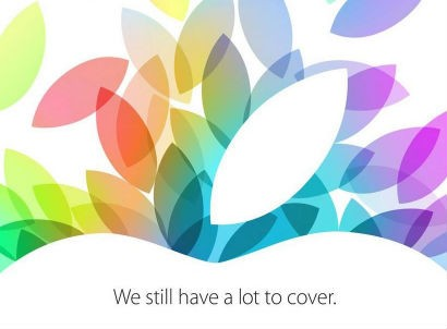 Apple Confirms 22 October Event