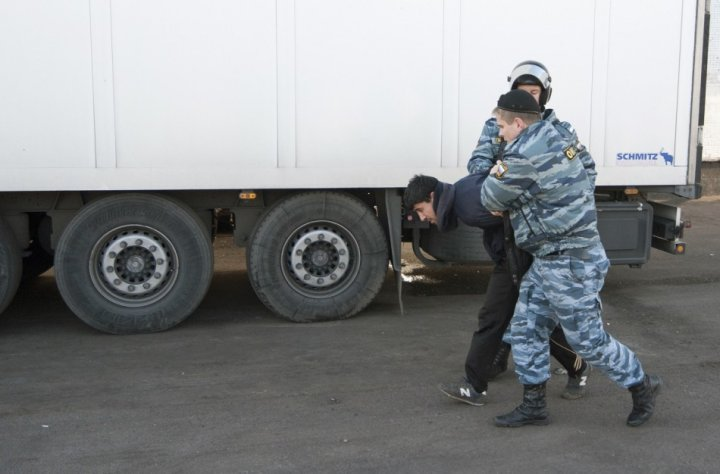 Moscow migrants murder riots