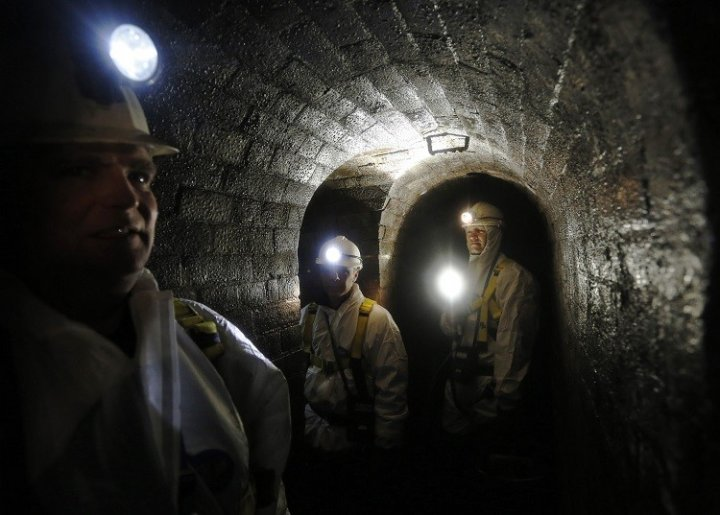 In the Thames Water Fleet sewer, a Victorian sewer system designed by Joseph Bazalgette, beneath the streets of London. Thames Water blames the 'super sewer' costs for rise in bills (Photo: Reuters)