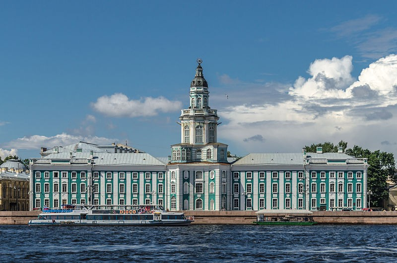 Headquarters of the Imperial Academy of Sciences - the Kunstkammer in Saint Petersburg, Russia. Russia is the most educated country in the world in 2013, claims a report. (Photo: Wikimedia Commons)