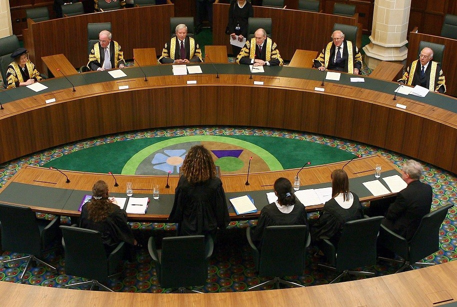 The Supreme Court has thrown out a legal challenge by Peter Chester and George McGeoch PIC: Reuters