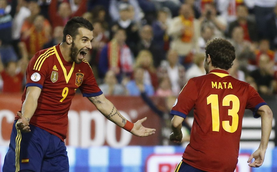 Negredo and Mata