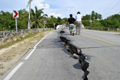 Earthquake Philippines damages