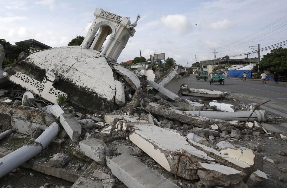 destroyed church Philippines